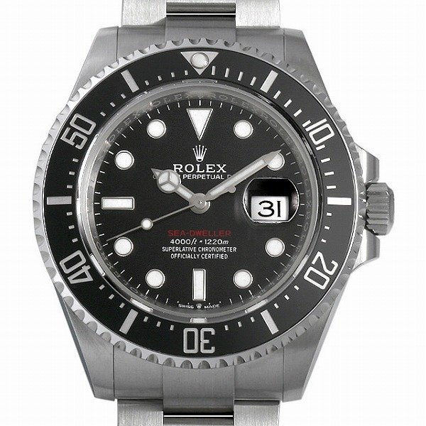 格安SALEスタート! 48回払いまで無金利 ロレックス シードゥエラー 126600 クラウン有り 新品 メンズ 腕時計, 足立区 53063177