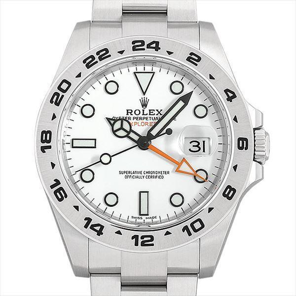 size 40 801c4 53803 ロレックス エクスプローラーII 216570 ホワイト 新品 メンズ 腕時計 :n-216570wh:GINZA RASIN ヤフー店 - 通販 -  Yahoo!ショッピング