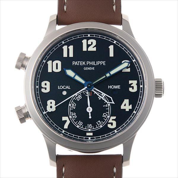 【あすつく】 48回払いまで無金利 メンズ パテックフィリップ カラトラバ 腕時計 パイロット トラベルタイム 5524G-001 新品 メンズ 5524G-001 腕時計, アイティシー工房:06f3fbab --- airmodconsu.dominiotemporario.com