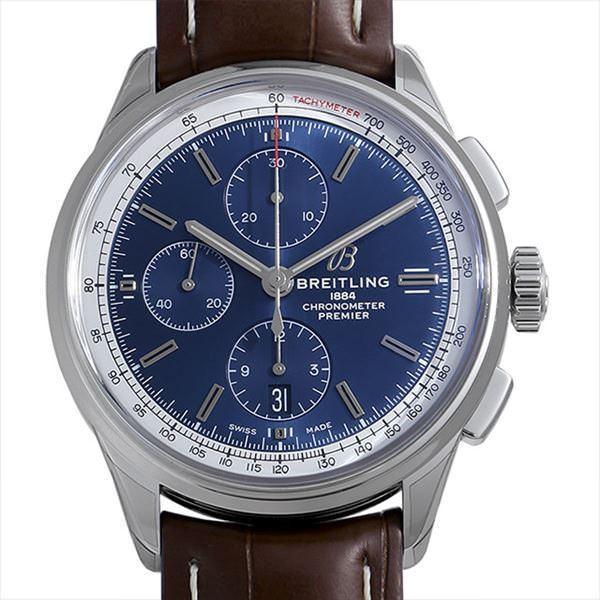 新品即決 48回払いまで無金利 ブライトリング メンズ プレミエ プレミエ クロノグラフ42 腕時計 A117C-1WAD 新品 メンズ 腕時計, かぐらや:c71c66b3 --- airmodconsu.dominiotemporario.com