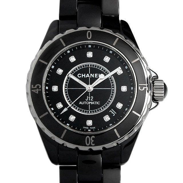 上品なスタイル 48回払いまで無金利 シャネル J12 黒セラミック 12Pダイヤ H1626 12Pダイヤ 新品 メンズ H1626 黒セラミック 腕時計, イノベーションライフ:5a3646fc --- airmodconsu.dominiotemporario.com