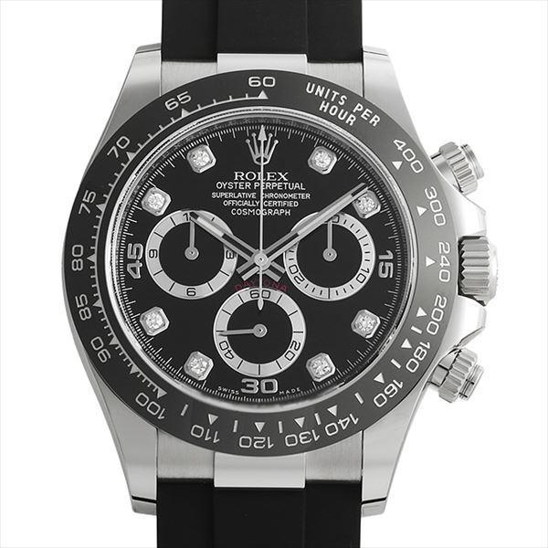 限定価格セール! 48回払いまで無金利 ロレックス コスモグラフ デイトナ 8Pダイヤ 116519LNG ブラック 未使用 メンズ 腕時計, 工具資材百貨 b6c0e8b0