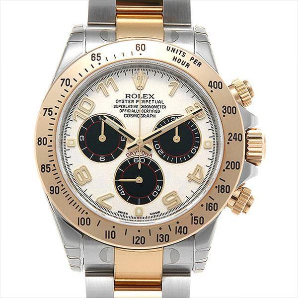 品揃え豊富で 48回払いまで無金利 ロレックス コスモグラフ コスモグラフ デイトナ 116523 116523 ホワイト/ブラック メンズ/アラビア Z番 未使用 メンズ 腕時計, あっとあるん:762761e2 --- airmodconsu.dominiotemporario.com