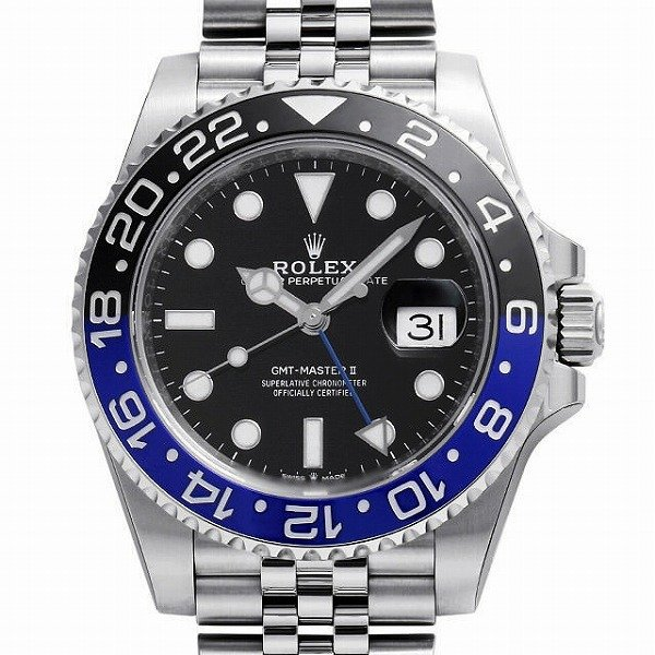 上等な 48回払いまで無金利 ロレックス GMTマスターII 126710BLNR 未使用 メンズ 腕時計, 亀田町 3c2caf74