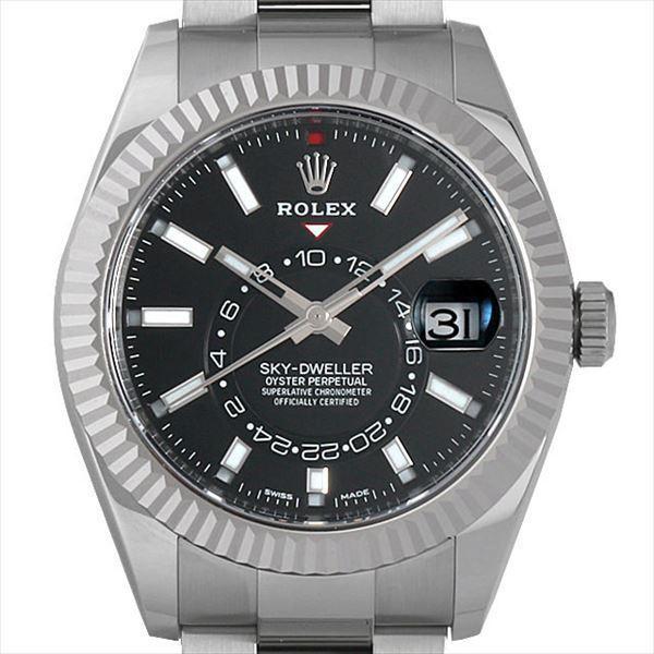 【即納!最大半額!】 48回払いまで無金利 ロレックス スカイドゥエラー 腕時計 326934 ロレックス ブラック メンズ 未使用 メンズ 腕時計, セブンモール:8b1afc13 --- airmodconsu.dominiotemporario.com