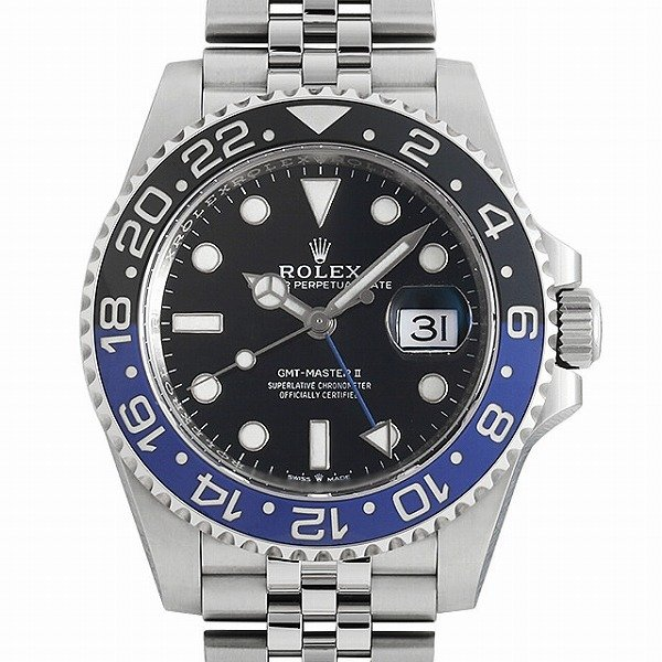 【訳あり】 48回払いまで無金利 ロレックス GMTマスターII ロレックス メンズ 126710BLNR 126710BLNR メンズ 腕時計, セトダチョウ:ec7c4784 --- airmodconsu.dominiotemporario.com