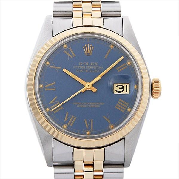 【半額】 48回払いまで無金利 ロレックス デイトジャスト 16013 ブルー 59番/ローマ メンズ 59番 デイトジャスト メンズ 腕時計, 質 フレンド:152cc99d --- airmodconsu.dominiotemporario.com