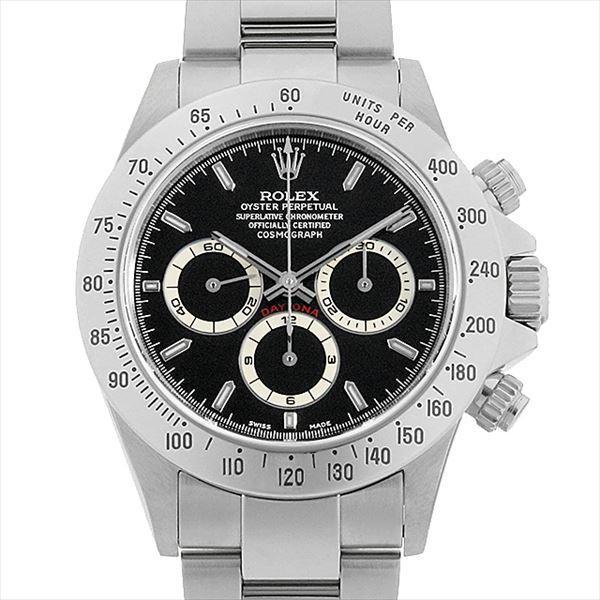 最高級 48回払いまで無金利 ロレックス コスモグラフ デイトナ 16520 ブラック U番  メンズ 腕時計, 古着屋 hooperdoo 59cd9397