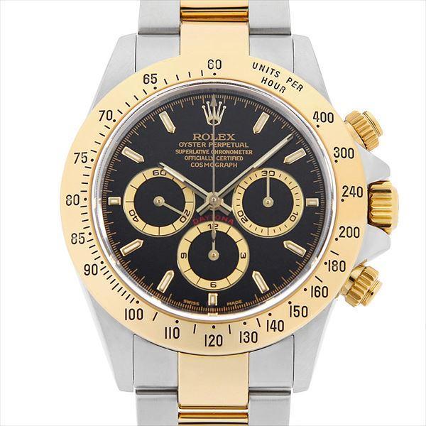 贅沢 48回払いまで無金利 ロレックス コスモグラフ デイトナ 16523 ブラック/逆6文字盤 S番  メンズ 腕時計, サイワイク cf7c437b