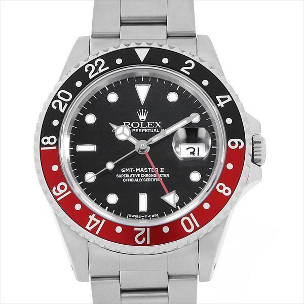 今年も話題の 48回払いまで無金利 ロレックス GMTマスターII GMTマスターII 赤黒ベゼル ロレックス 腕時計 16710 R番 メンズ 腕時計, 作業屋やまほ:7413d637 --- airmodconsu.dominiotemporario.com