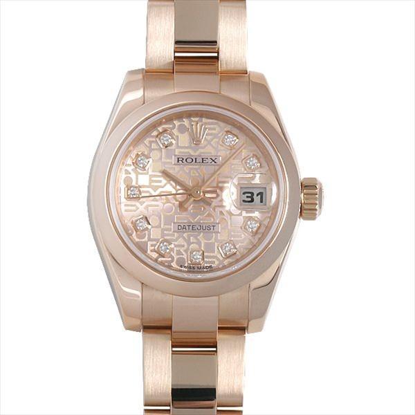 憧れの 48回払いまで無金利 ロレックス デイトジャスト K番 179165G 179165G ピンク彫りコンピューター レディース K番 レディース 腕時計, クラウドシューカンパニー:567b41f7 --- persianlanguageservices.com