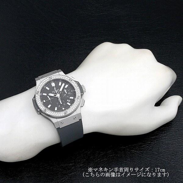 60回払いまで無金利 ウブロ ビッグバン アールグレイ ダイヤモンド 301.ST.5020.GR.1104 中古 メンズ 腕時計|ginzarasin|05