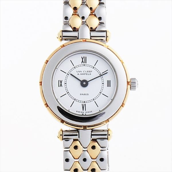 美品  48回払いまで無金利 ヴァンクリーフ&アーペル スポーツII 422907 HX4  レディース 腕時計, 日本実効商品センター 57bb3d06