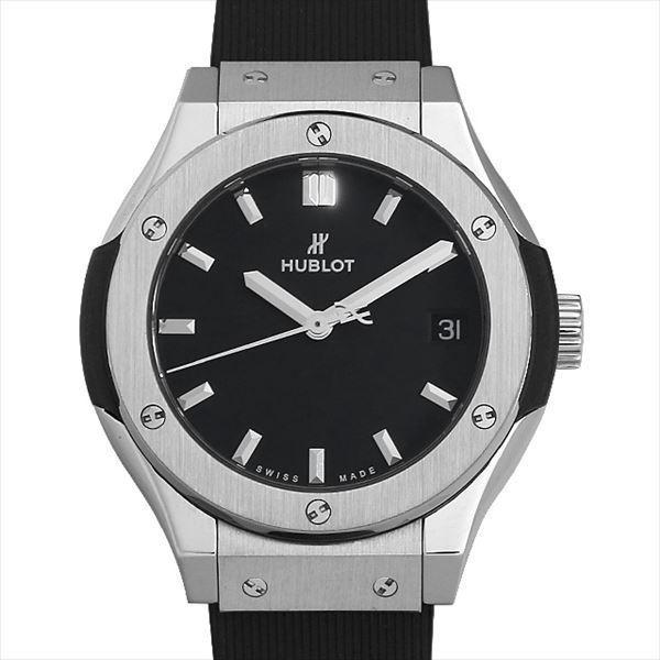 【楽天カード分割】 48回払いまで無金利 ウブロ クラシックフュージョン チタニウム ダイヤモンド 581.NX.1171.RX.1104  レディース 腕時計, KIDS-STYLE ホアシ d6788493