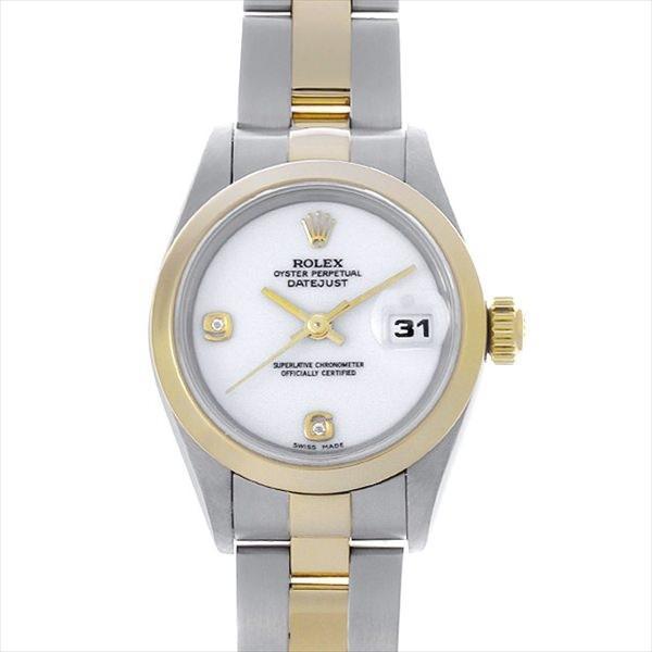 素敵な 48回払いまで無金利 SALE U番 レディース ロレックス デイトジャスト 腕時計 2Pダイヤ 69163 2BR ホワイト U番 レディース 腕時計, ワイン本舗 ヴァンヴィーノ:cf6666cb --- airmodconsu.dominiotemporario.com