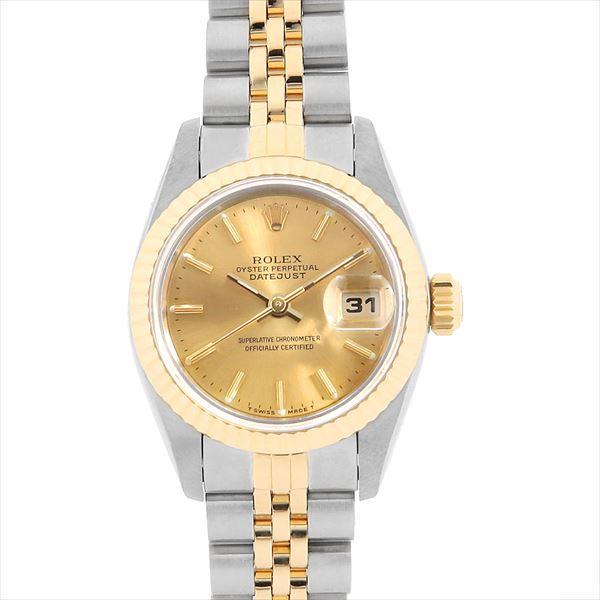 新着商品 48回払いまで無金利 ロレックス 69173 デイトジャスト 97番 69173 腕時計 シャンパン/バー レディース ロレックス 腕時計, 追分町:139089b6 --- airmodconsu.dominiotemporario.com