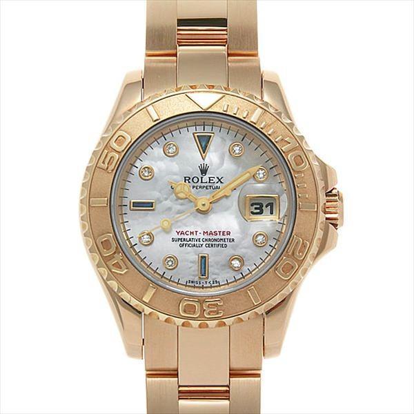 『1年保証』 48回払いまで無金利 ロレックス ヨットマスター 8Pダイヤ/3Pサファイア 69628NGS ホワイトシェル ロレックス 腕時計 W番 W番 レディース 腕時計, クシロシ:c405c5bd --- persianlanguageservices.com