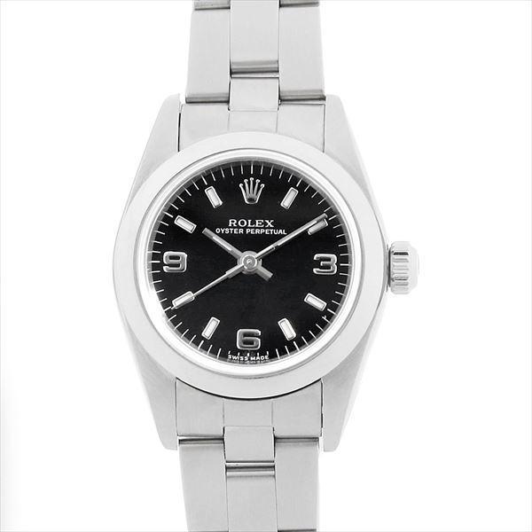 人気ブランドの 48回払いまで無金利 ロレックス オイスターパーペチュアル Y番 76080 76080 ブラック/バー Y番 レディース 腕時計 腕時計, TISSE:e882ae40 --- airmodconsu.dominiotemporario.com