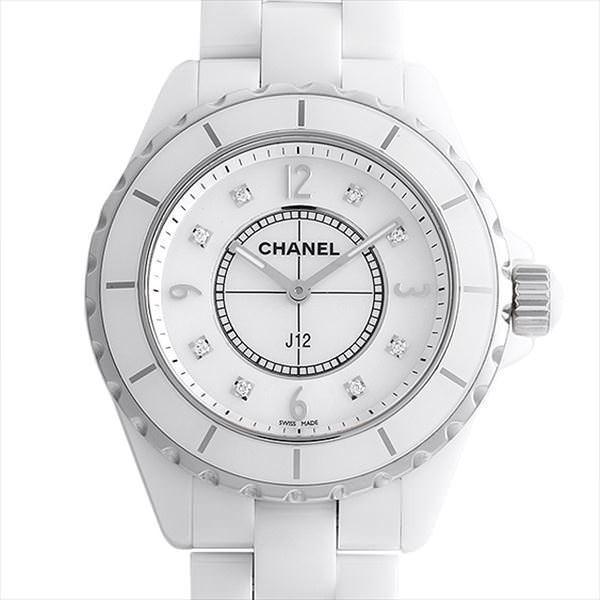 正規品販売! 48回払いまで無金利 シャネル J12 8Pダイヤ H3214  メンズ 腕時計, ナカジマスポーツ f3f24c61
