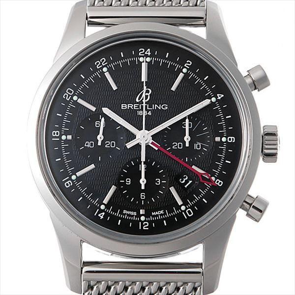 上質で快適 48回払いまで無金利 ブライトリング 腕時計 トランスオーシャン クロノグラフ GMT 世界限定2000本 S045B67OCA(AB0451) GMT メンズ メンズ 腕時計, ICEFIELD:3b642d0a --- airmodconsu.dominiotemporario.com