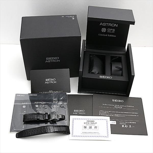 60回払いまで無金利 セイコー アストロン 8X World-Time 2016 リミテッドエディション 世界3500本限定 SBXB091 中古 メンズ 腕時計 ginzarasin 05