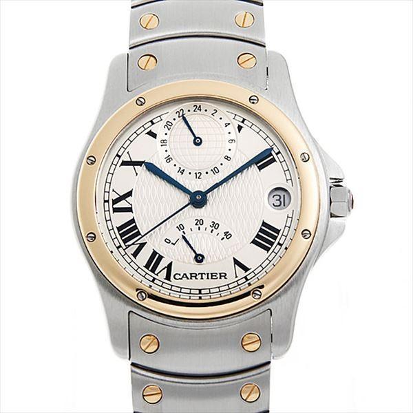 【在庫処分】 48回払いまで無金利 サントス カルティエ W20038R3 サントス ロンド メンズ GMT パワーリザーブ 150周年記念モデル W20038R3 メンズ 腕時計, 楽譜 スコアオンライン:24ab8d18 --- airmodconsu.dominiotemporario.com
