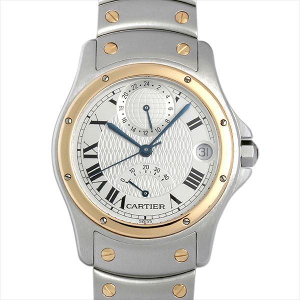 熱い販売 48回払いまで無金利 SALE カルティエ サントス ロンド ロンド 腕時計 GMT パワーリザーブ SALE 150周年記念モデル W20038R3 メンズ 腕時計, 堀田勉強堂:33fede49 --- airmodconsu.dominiotemporario.com