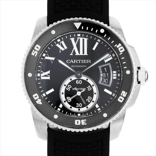 売上実績NO.1 48回払いまで無金利 ドゥ カルティエ カリブル ドゥ カルティエ ダイバー カリブル W7100056 カルティエ メンズ 腕時計, Un Branche:fb64d53c --- airmodconsu.dominiotemporario.com