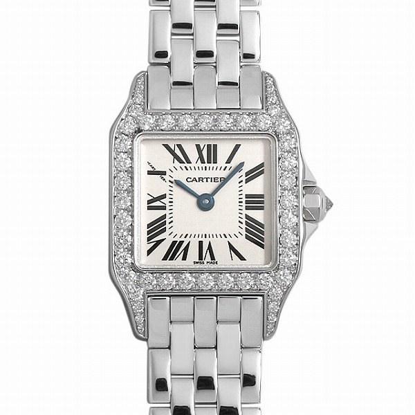 華麗 48回払いまで無金利 SALE カルティエ サントス SALE ドゥ モワゼル カルティエ SM SM WF9003Y8 レディース 腕時計, 理化学ショップ:e3490af9 --- persianlanguageservices.com