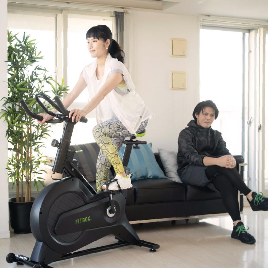 【公式】FITBOX フィットネスバイク スピンバイク エアロ バイク 家庭用 静音 AINEXT 第3世代フィットネスバイク ginzasmartstyle 14