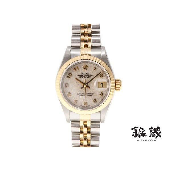 新品本物 ロレックス ROLEX デイトジャスト69173 YG SS T番 自動巻レディース時計, 彩り品 5ba291d0