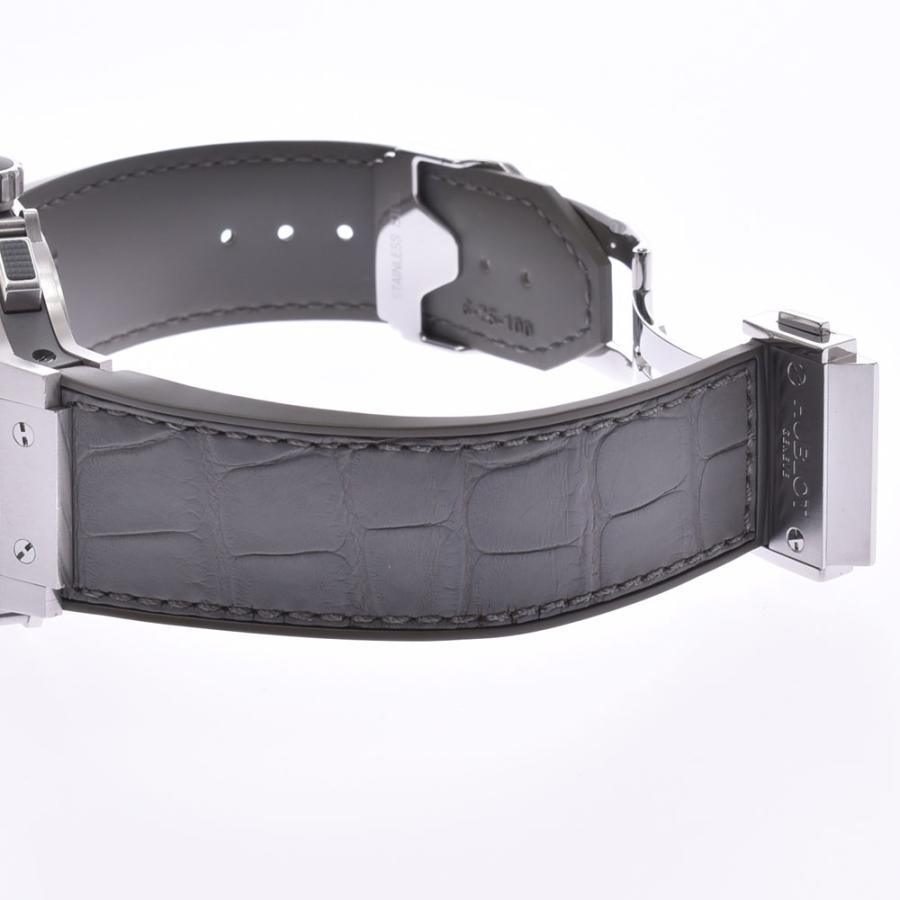 HUBLOT ウブロ アールグレイダイヤモンド  ビックバン 301.ST.5020.GR.1104 メンズ SS/ラバー/レザー 腕時計 自動巻き グレー文字盤 Aランク 中古 銀蔵|ginzo1116|10