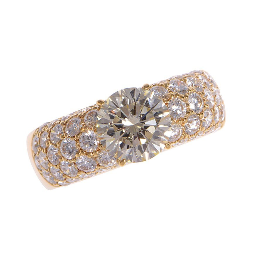一番人気物 平和堂 リング ダイヤ2.273 2.27ct LY-VS1 YG 13.1g #21.5, 【福袋セール】 f22d9950