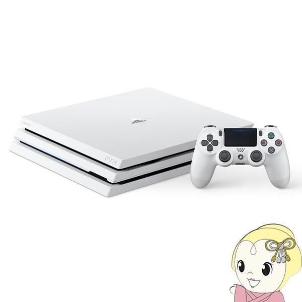 ソニー PlayStation4 Pro プレイステーション4 Pro 本体 HDD 1TB グレイシャー・ホワイト CUH-7200BB02