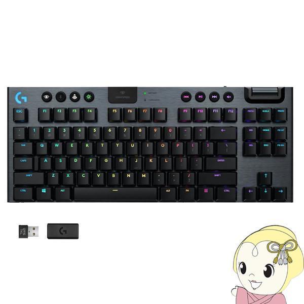 Logicool G ロジクール ワイヤレス ゲーミング キーボード G913 TKL タクタイル 日本語配列 テンキーレス G913-TKL-TCBK