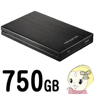 PHD-25US2/750G プリンストン 2.5インチ ポータブルハードディスク 750GB