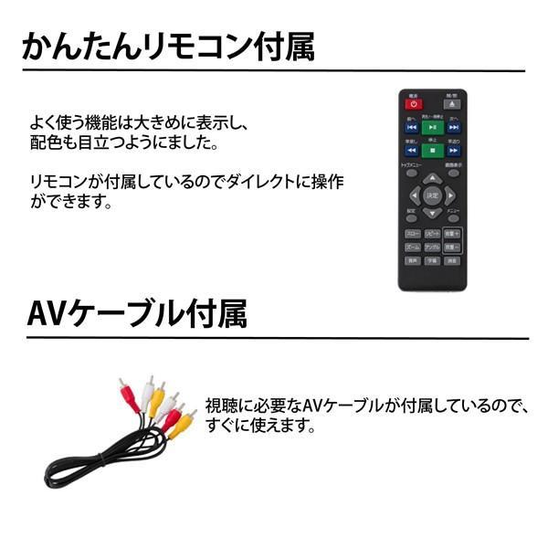 TH-DVD01 TOHOTAIYO 再生専用 据置DVDプレーヤー gioncard 05