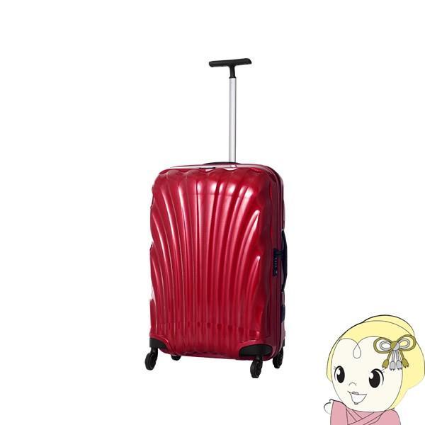 在庫僅少 【4〜7泊程度の旅行に】V22-306-1726 並行輸入品 サムソナイト スーツケース コスモライト スピナー69 赤/srm