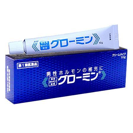 グローミン軟膏 10g 男性ホルモン精力剤・更年期障害・ED治療薬