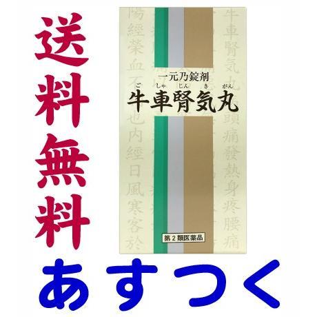 牛車腎気丸 900錠 漢方薬 錠剤(一元製薬)107番
