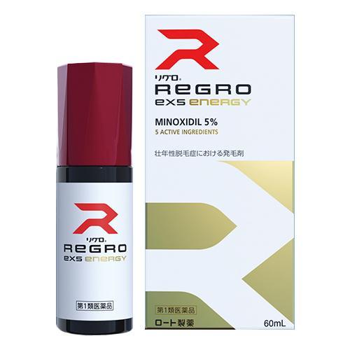 リグロEX5 エナジー 60ml 育毛剤 ロート製薬