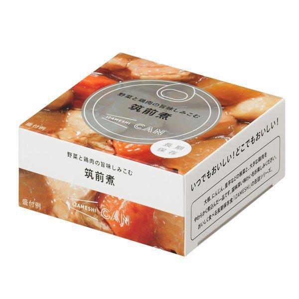 3年保存 非常食 保存食 杉田エース イザメシ CAN 缶詰 おかず 野菜と鶏肉の旨味しみこむ筑前煮 1食 1缶|gios-shop|07