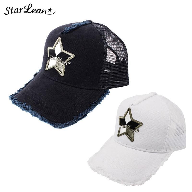 スターリアン StarLean 5パーツメッシュキャップ