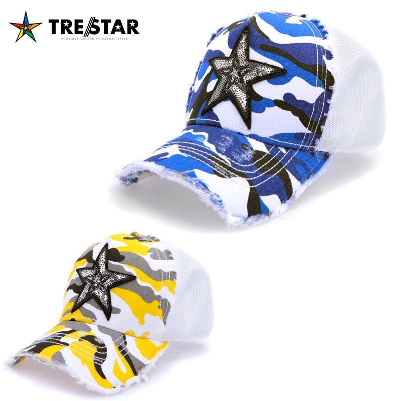 TRE☆STAR トレスター CAP STAR CAMO