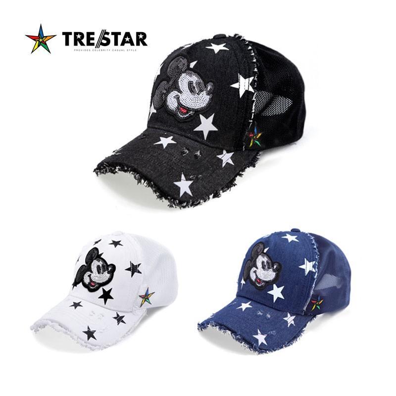 TRE☆STAR トレスター ミッキー メッシュキャップ