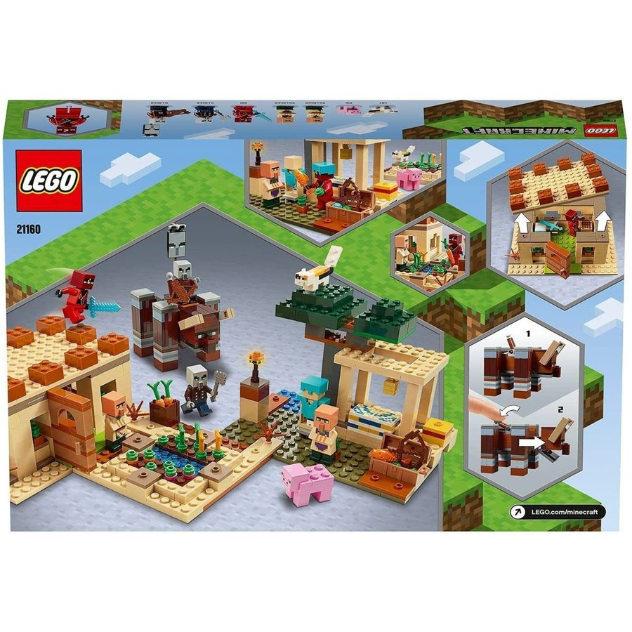 レゴ LEGO マインクラフト イリジャーの襲撃 21160