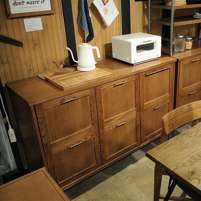 ジャーナルスタンダード 家具 キッチンカウンター 木製 幅130 ジャーナルスタンダードファニチャー BRISTOL キッチンカウンター