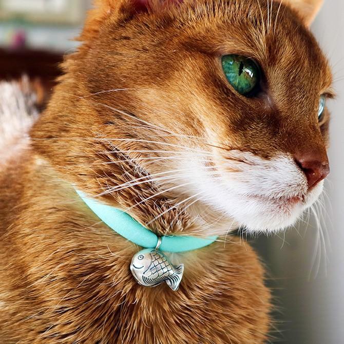 猫 首輪 鈴 おしゃれ かわいい necono ネコノ 猫の首輪 Luce Bell ルーチェ ベル