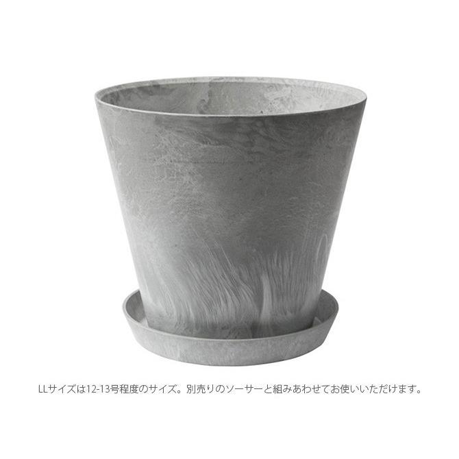 鉢 ポット プランター おしゃれ 穴付き amabro アマブロ ART STONE アート ストーン LL|girlyapartment|06