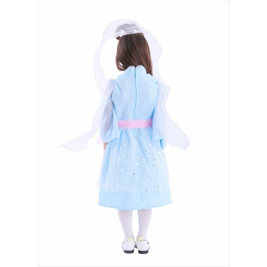 377753c359f0e3 ハロウィン 衣装 子供 コスチューム コスプレ 和風コス キッズ 乙姫様 ...